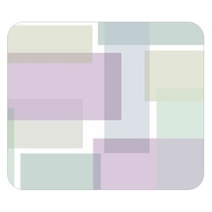 Abstract Background Pattern Design Double Sided Flano Blanket (small)