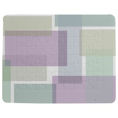 Abstract Background Pattern Design Jigsaw Puzzle Photo Stand (rectangular)