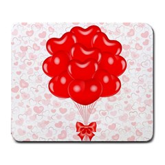 Abstract Background Balloon Large Mousepads