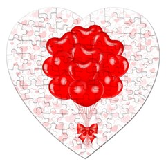 Abstract Background Balloon Jigsaw Puzzle (Heart)