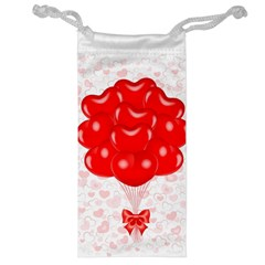 Abstract Background Balloon Jewelry Bag