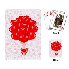 Abstract Background Balloon Playing Card