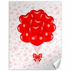 Abstract Background Balloon Canvas 18  X 24
