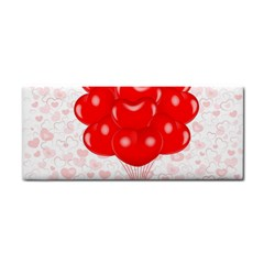 Abstract Background Balloon Cosmetic Storage Cases