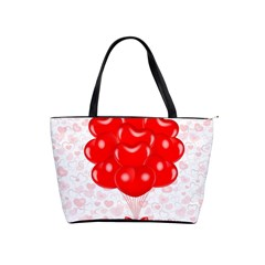Abstract Background Balloon Shoulder Handbags