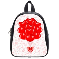 Abstract Background Balloon School Bags (Small)