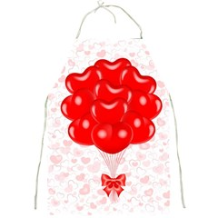 Abstract Background Balloon Full Print Aprons