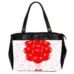 Abstract Background Balloon Office Handbags (2 Sides)