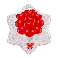 Abstract Background Balloon Ornament (snowflake)