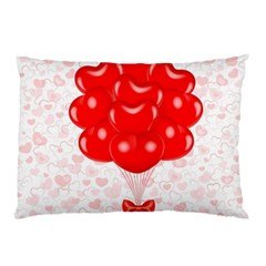 Abstract Background Balloon Pillow Case (two Sides)