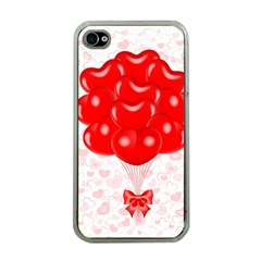 Abstract Background Balloon Apple Iphone 4 Case (clear)