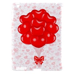 Abstract Background Balloon Apple Ipad 3/4 Hardshell Case (compatible With Smart Cover)