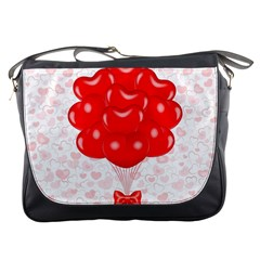 Abstract Background Balloon Messenger Bags
