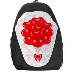 Abstract Background Balloon Backpack Bag