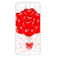 Abstract Background Balloon Apple iPhone 5 Seamless Case (White)