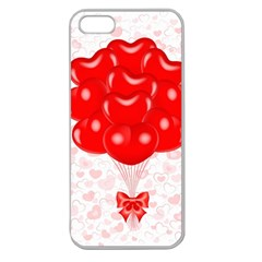 Abstract Background Balloon Apple Seamless iPhone 5 Case (Clear)
