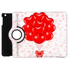 Abstract Background Balloon Apple Ipad Mini Flip 360 Case