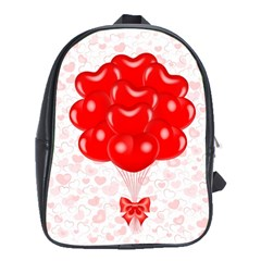 Abstract Background Balloon School Bags (xl)