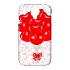 Abstract Background Balloon Samsung Galaxy S4 Classic Hardshell Case (pc+silicone)