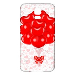 Abstract Background Balloon Samsung Galaxy S5 Back Case (white)
