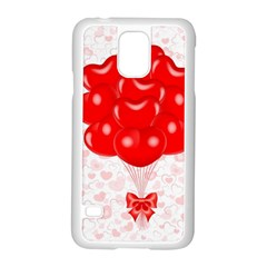 Abstract Background Balloon Samsung Galaxy S5 Case (white)