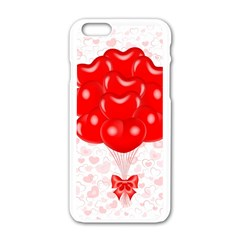 Abstract Background Balloon Apple Iphone 6/6s White Enamel Case
