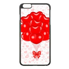 Abstract Background Balloon Apple Iphone 6 Plus/6s Plus Black Enamel Case