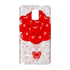 Abstract Background Balloon Samsung Galaxy Note 4 Hardshell Case