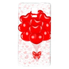 Abstract Background Balloon Galaxy Note 4 Back Case