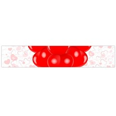Abstract Background Balloon Flano Scarf (large)