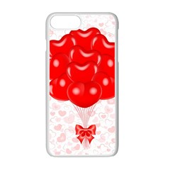 Abstract Background Balloon Apple Iphone 7 Plus White Seamless Case
