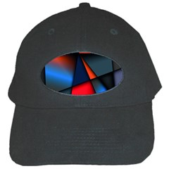 3d And Abstract Black Cap