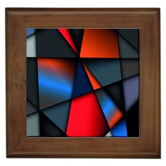 3d And Abstract Framed Tiles