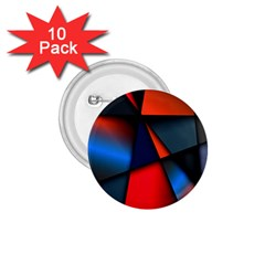 3d And Abstract 1 75  Buttons (10 Pack)