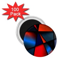 3d And Abstract 1.75  Magnets (100 pack)