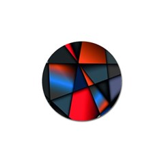 3d And Abstract Golf Ball Marker