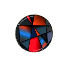 3d And Abstract Hat Clip Ball Marker