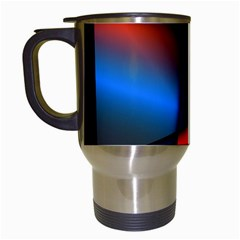 3d And Abstract Travel Mugs (White)