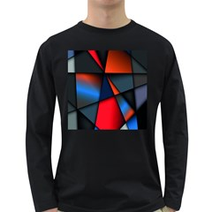 3d And Abstract Long Sleeve Dark T Shirts
