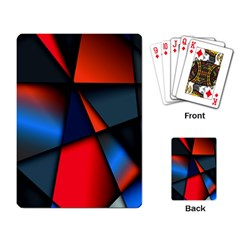 3d And Abstract Playing Card