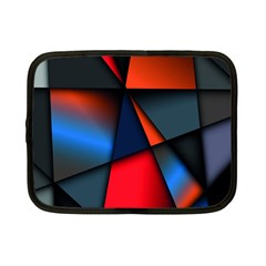 3d And Abstract Netbook Case (Small)