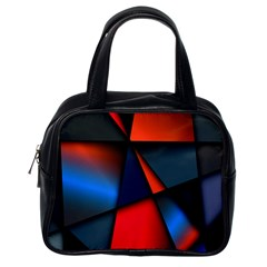 3d And Abstract Classic Handbags (one Side)