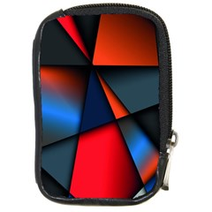 3d And Abstract Compact Camera Cases