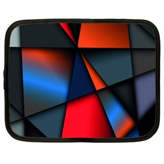 3d And Abstract Netbook Case (XXL)