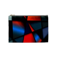 3d And Abstract Cosmetic Bag (medium)