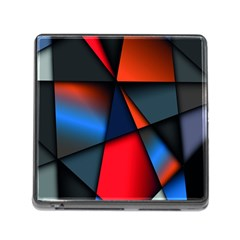 3d And Abstract Memory Card Reader (Square)