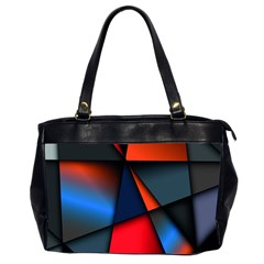 3d And Abstract Office Handbags (2 Sides)