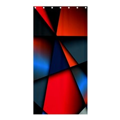 3d And Abstract Shower Curtain 36  X 72  (stall)