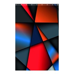 3d And Abstract Shower Curtain 48  X 72  (small)