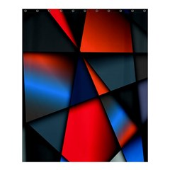 3d And Abstract Shower Curtain 60  X 72  (medium)